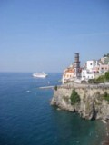 Coast of Atrani - Click to go to the town