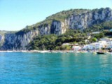 Port of Capri - Click to go to the town