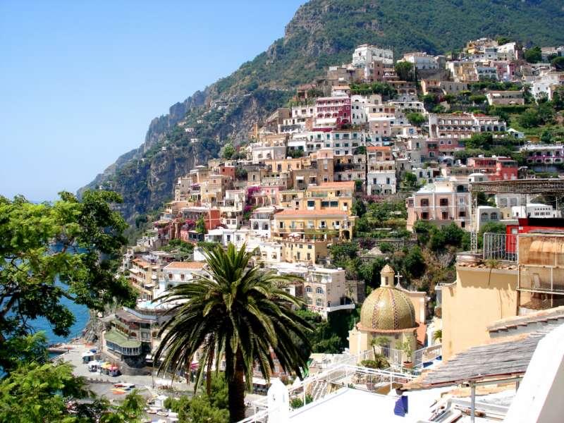 Positano amalfi coast campania south italy holidays for Amalfi to positano